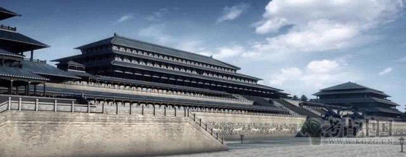 铁器时代 · 咸阳秦宫殿遗址