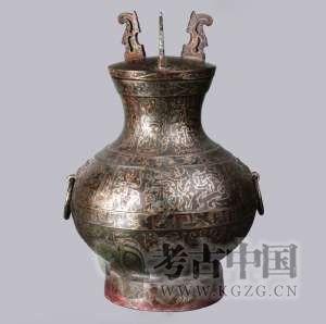 西汉 · 鸟篆文铜壶(河北博物院)