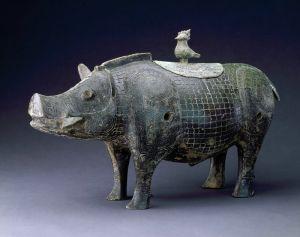 商代 · 豕形铜尊(湖南省博物馆)